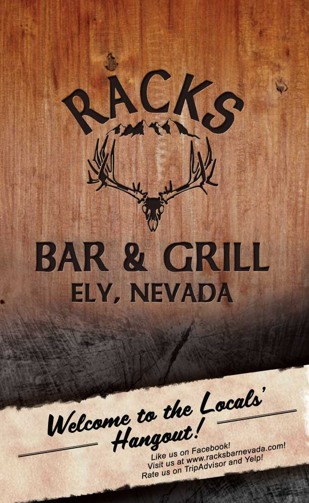 Menu Racks Bar Ely Nevada